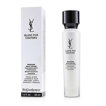 Yves Saint Laurent Blanc Pur Couture brilhante umidade emulsão - 50ml/1,6 oz