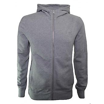 Hugo Boss Casual Men's Ztadium UK Grey Hooded Tracksuit
