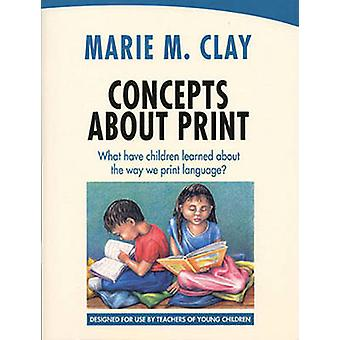 Concepts About Print - What Have Children Learned About the Way We Pri