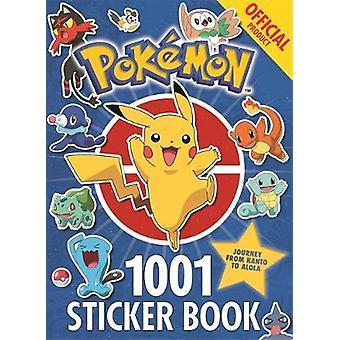 De officielle Pokemon 1001 klistermærker af Pokemon - 9781408354735 bog