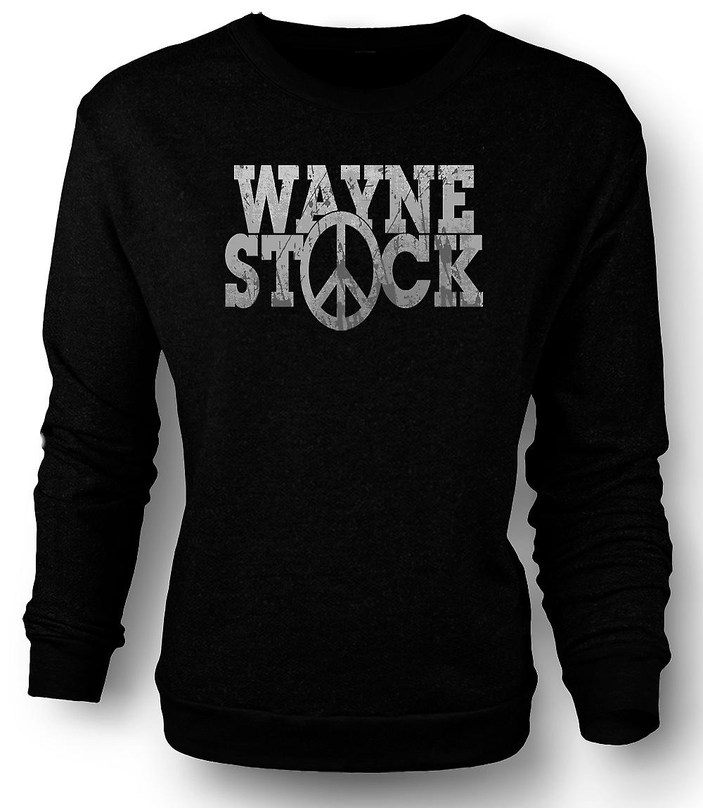 Mens Sweatshirt Wayne Stock - Waynes World