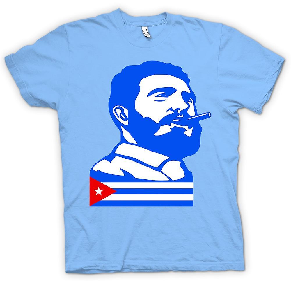 Herr T-shirt - Fidel Castro - Kuba