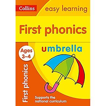 First Phonics Ages 3-5 (Collins Easy Learning Preschool)