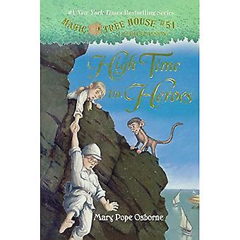 Hög tid för hjältar (Stepping Stone böcker)