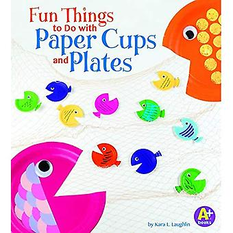 Fun Things to Do with Paper Cups and Plates (10 Things to Do)