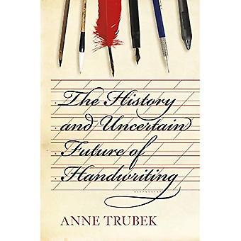 L'histoire et l'avenir incertain de l'écriture manuscrite