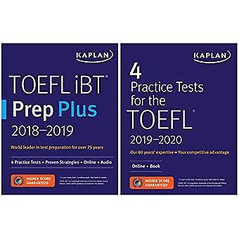 TOEFL Prep Set: 2 Books +� Online (Kaplan Test Prep)