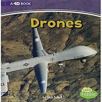 Drones: A 4D Book (Mighty Military Machines)
