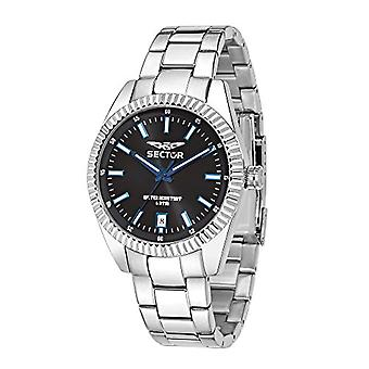 Sector No Limits Watch analog quartz watch with stainless steel band _ R3253476001