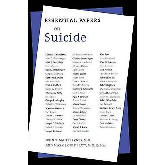 Essential Papers on Suicide by Maltsberger & John T.