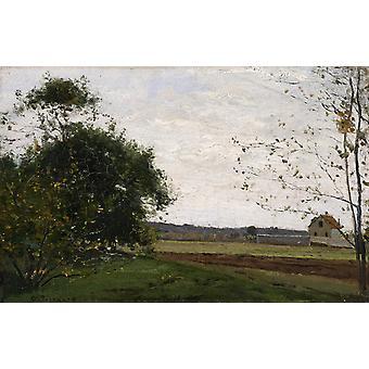 Landscape Paysage,Camille Pissarro,60x38cm