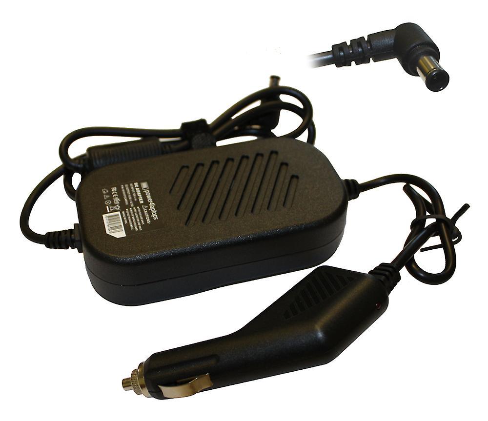 Sony Vaio PCG-8X2L Compatible pour ordinateur portable alimentation DC adaptateur chargeur de voiture