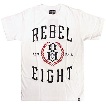 Rebel8 Lauriers T-shirt blanc