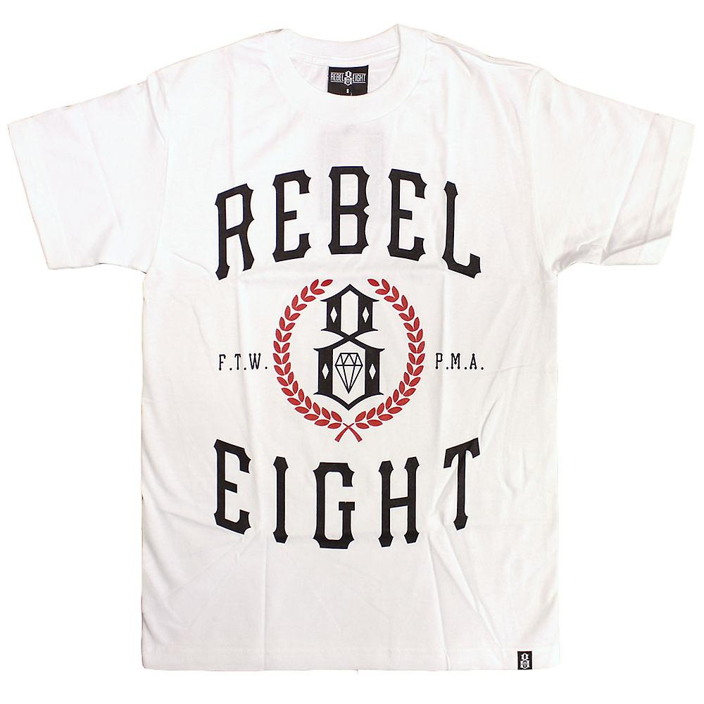 Rebel8 lagrar T-shirt vit