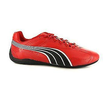 Puma Cosmo Red Leather Fashion Sneaker
