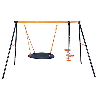 Hedstrom Nebula Nest Swing och Glider in blå/Orange i åldrarna 3-10 år