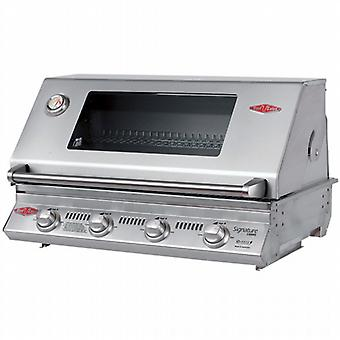 BeefEater Signature S3000 4 Burner Gas Built In BBQ - Cast Iron