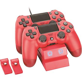 Twin docking station - red (ps4)