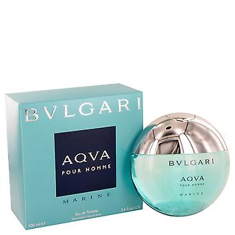 Bvlgari Aqua Marine by Bvlgari Eau De Toilette Spray 3.4 oz / 100 ml (Men)