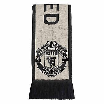 2019-2020 Man Utd Adidas 3S Scarf (Linen)