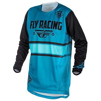 Fly Racing Blue-Black 2018 Kinetic Era MX Jersey