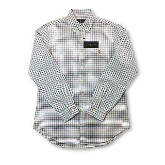 Ralph Lauren regular hirt in green/white check