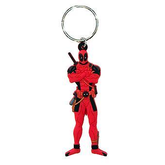Deadpool Figurine Keychain