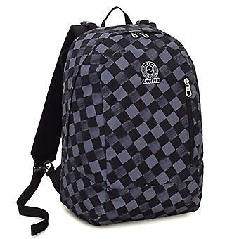 Backpack 2in1 Reversible Invicta Twist - GEOMETRIC - Black - 26 Lt - Fantasy - United Color