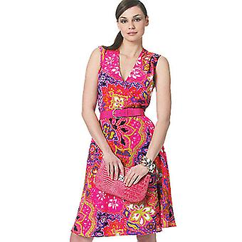 Misses' Dress Aa 6 8 10 12 Muster V8646 Aa0