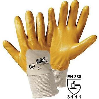 worky 1496C Worky 1496C Nitrile-Coated Cotton Glove (Size 9)