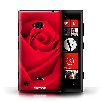 STUFF4 Case/Cover for Nokia Lumia 720/Red/Rose