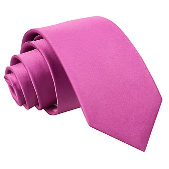 Boy's Plain Mulberry Satin Tie (8+ years)