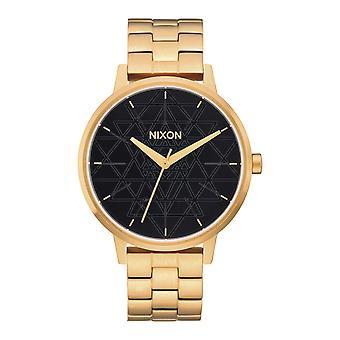 Nixon das Kensington-Gold / Schwarz / gestempelt (A0992478)