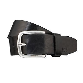 Lee belts men's belts leather belt black 3245