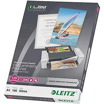 Laminate sheet Leitz DIN A4 125 micron glossy