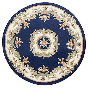 Rugs -Mahal Round - Blue