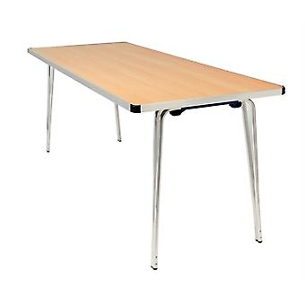 Ceri Oak 4Ft Portable Folding Table - Various Colours