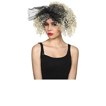 Adults Ladies 80's Material Girl Wig Fancy Dress Accessory