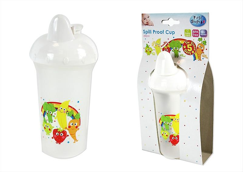 First Steps 285ml Spill Proof Cup with Gimmie 5 Gang Design