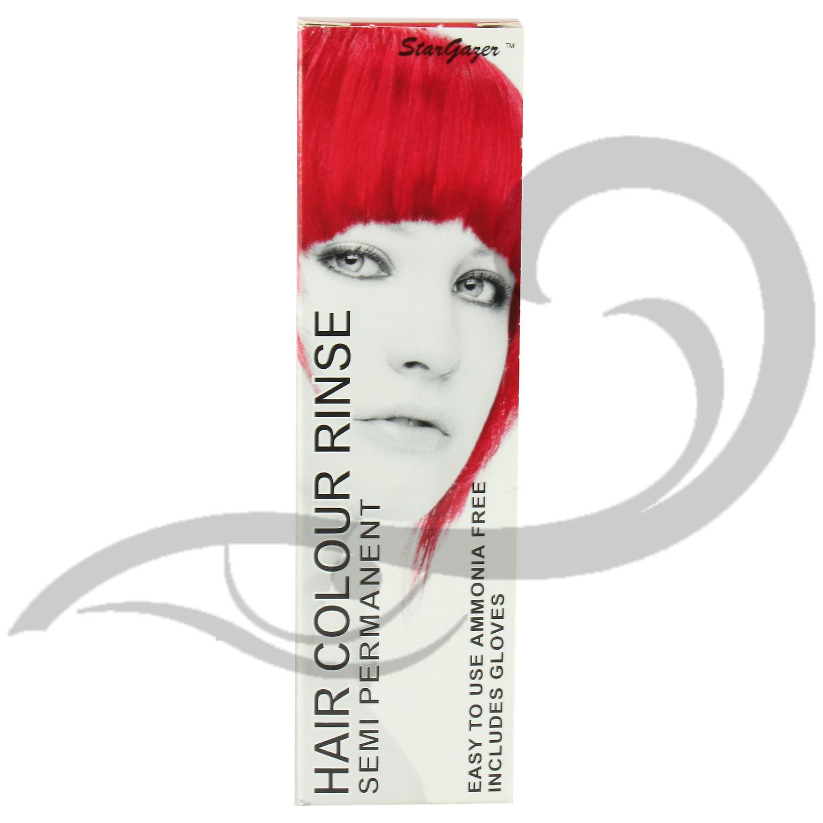 Stargazer Hair Dye -  Rouge With Tint Brush