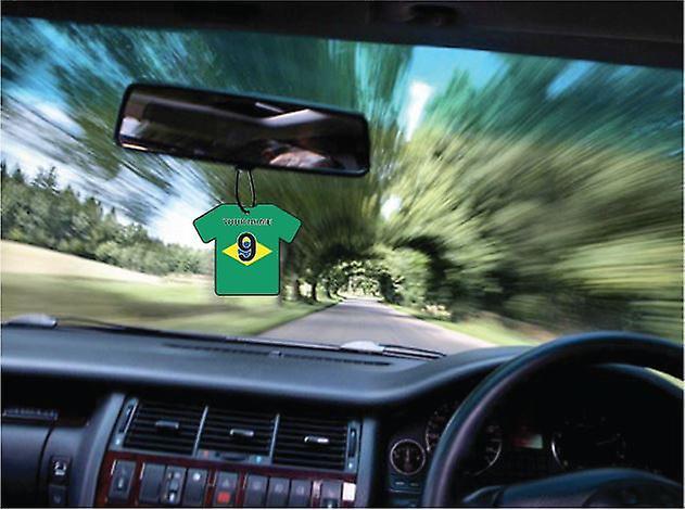Deodorante per auto personalizzato Brasile bandiera Jersey