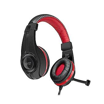 SPEEDLINK Legatos Stereo Gaming Headset with Fold-Away Microphone - Black