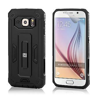 32nd hårt Defender fallet för Samsung Galaxy S6 (SM-G920) - svart