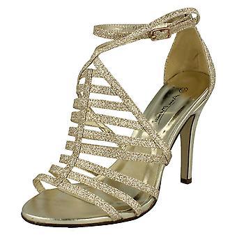 Ladies Anne Michelle Glitter High Heels