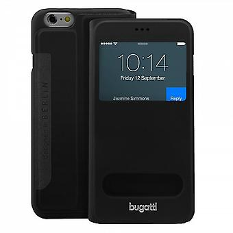 Bugatti Cover Lausanne Bag Black Apple iPhone 6 4.7