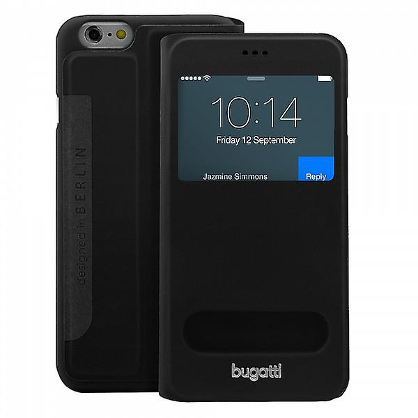 Bugatti BookCover Lausanne bag black Apple iPhone 6 4.7