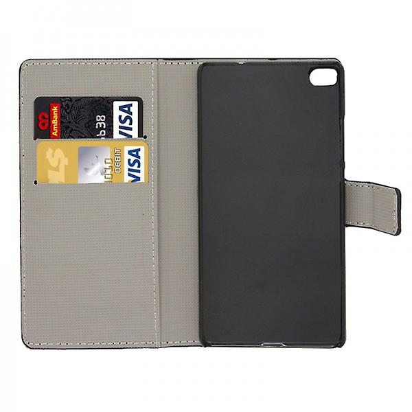 Pocket wallet premium model 4 for Huawei Ascend P8