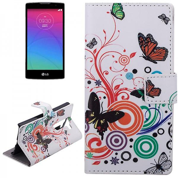 Pocket wallet premium pattern 2 for LG spirit C70 H420