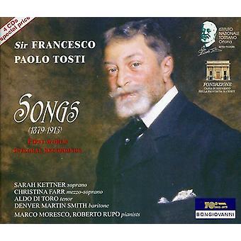 F.P. Tosti - Francesco Paolo Tosti: Songs [CD] USA import