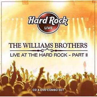 Williams Brothers - Live på Hard Rock Pt. 2 [CD] USA importen